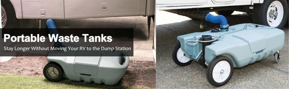 Portable RV Waste Tanks