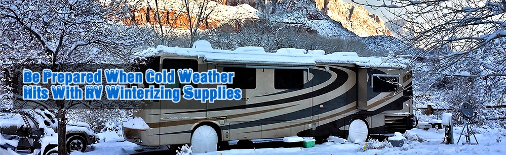 RV Winterizing Supplies