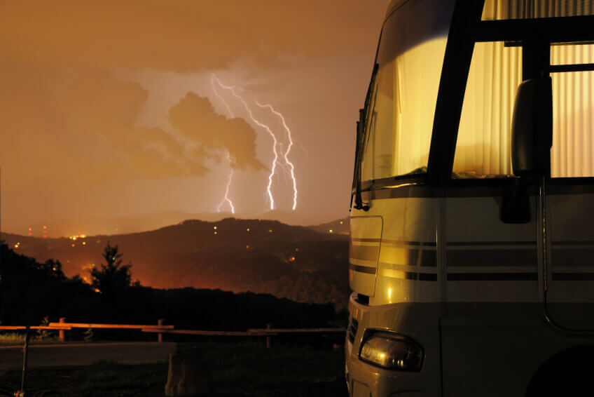 RVing in inclement weather