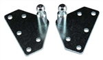 Gas Spring Flat Mounting Bracket - Wide