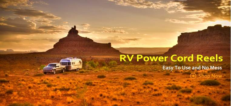 RV Power Cord Reel