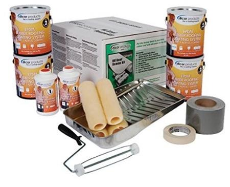 Dicor RP RRK 30 Rubber Roof Coating Kit
