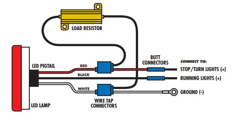 Installing Led Load Resistor Wiring Harness In A Bmw ... on