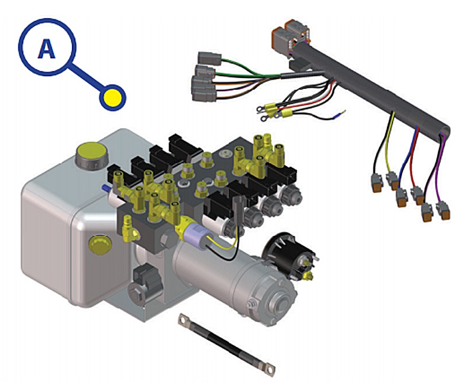 196894 lippert 045 179327 hydraulic pump motor for lippert leveling systems GMC Truck Wiring Diagrams at eliteediting.co