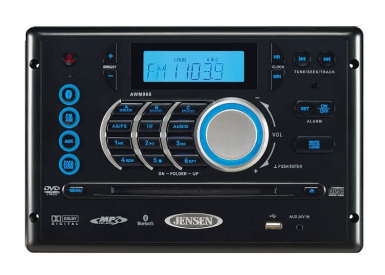 Jensen DVD/CD Bluetooth Stereo