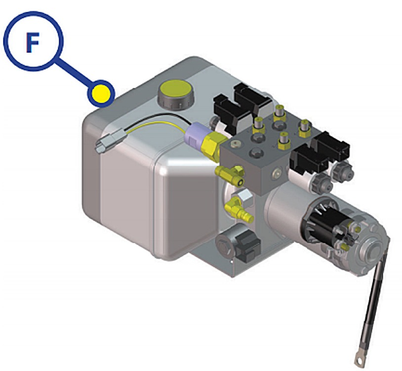 New Hydraulic Pump Motor For Lippert Leveling Systems