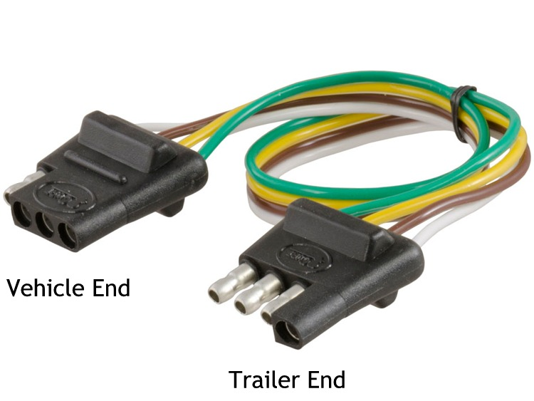4 flat trailer wiring diagram ground  | 3026 x 752