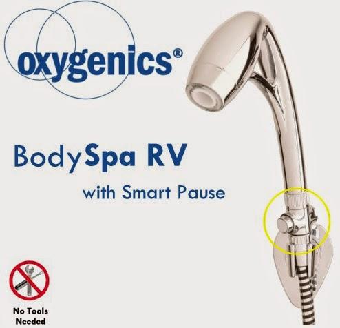 Oxygenics Smart Pause Rv Shower Head