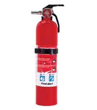 BRK Electron First Alert RV Fire Extinguisher