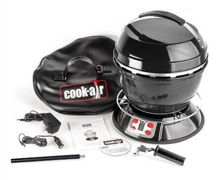 Cook Air Black Portable Grill