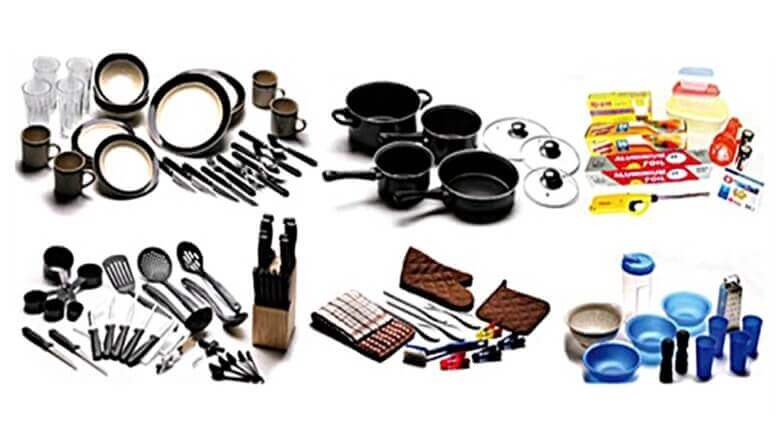 115 pc RV Cooking Set