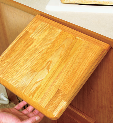 Camco Oak Countertop Extension