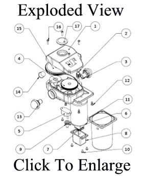 ultra fab 38 944037 electric tongue jack with 7 way plug Travel Trailer Light Wiring Diagram ultra fab 3052 electric tongue jack exploded view