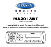 Jensen MS2013BT Owners Manual