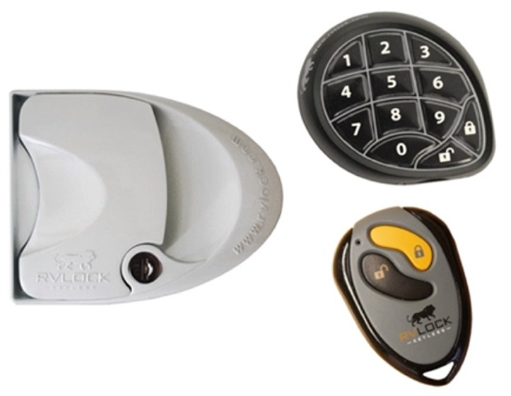 Mobile Outfitters Keyless Door Lock