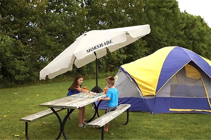 MorShade Portable RV / Beach Umbrella
