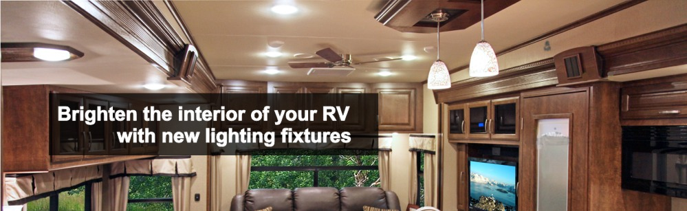 RV Interior Lights & Interior Lighting Fixtures