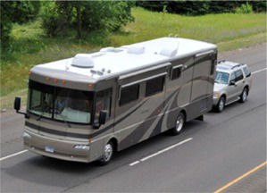 Towing a Vehicle with your RV