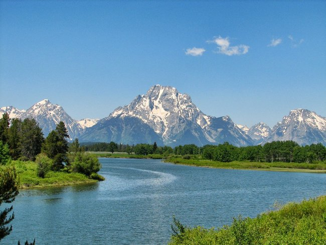 RV'ing at the Grand Teton Mountains