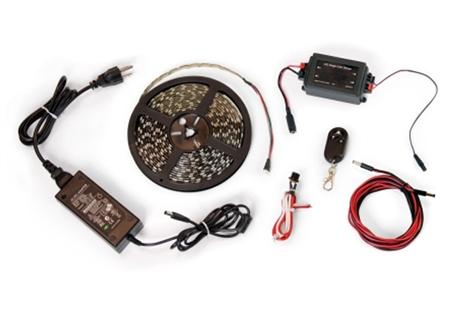 Carefree SR0107 LED RV Awning Light Kit, White, 16FT