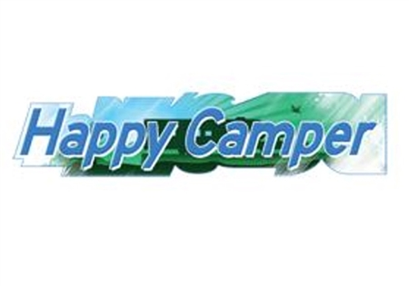 Illusion Inc Happy Camper Decal