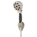 oxygenics fury rv handheld shower head brush nickel