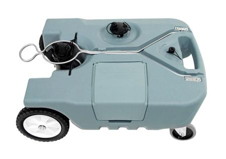 Tote N Stor 14855 Portable 4 Wheel Rv Waste Tank 18 Gallon