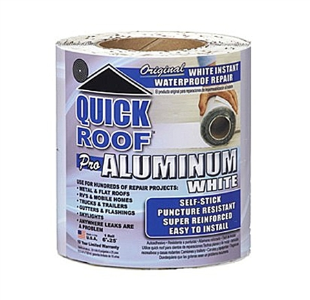 Cofair Products Wqr625 Quick Roof Aluminum White Rv Roof