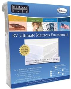 Mattress Safe CWU-6077.5(W) RV Ultimate Mattress Encasement - Queen