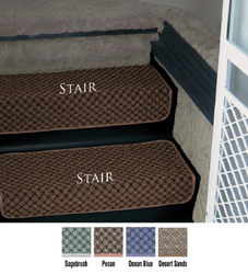 Step Huggers For Stair Steps 23 5 Quot Pecan