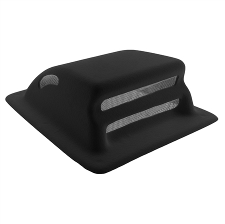 Icon 12581 Rv Holding Tank Vent Pipe Cover Black