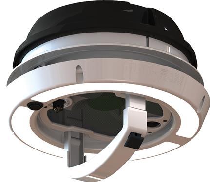 Maxxair 00 03810b Maxxfan Dome Roof Vent With Leds 12v Fan Manual Lift Black