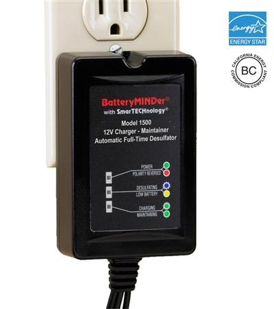 BatteryMinder 1500 Battery Charger