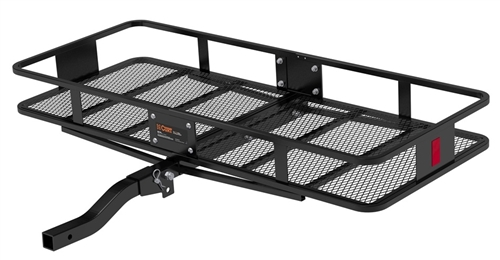 Curt 18153 Large Basket Cargo Carrier With Folding Shank