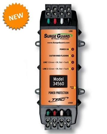 Surge Guard 34560 Permanent Rv Surge Protector 50 Amp