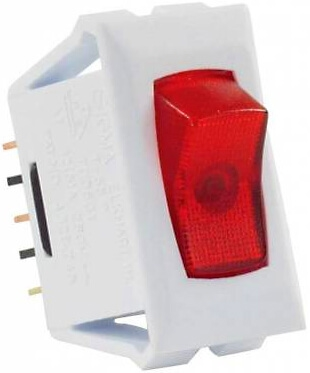 Jr Products 12505 Multi Purpose Illuminated Switch