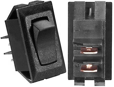 RV Designer Collection S141 Contoured Rocker Switch On//Off