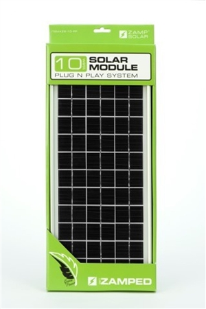 Zamp Solar Zs 10 Pp 10 Watt Panel With Plug