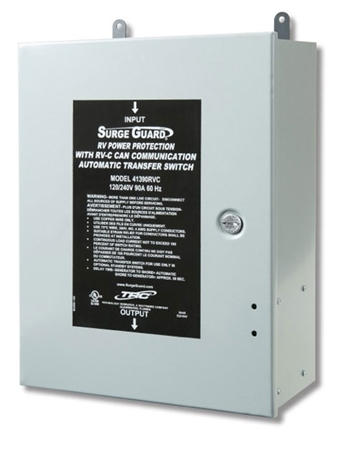Surge Guard 41390rvc 90 A Hardwire Automatic Transfer Switch