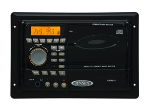 Jensen Awm910 Am Fm Cd Wallmount Rv Stereo