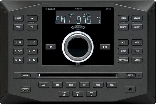 Jensen Jwm60a Wall Mount Rv Bluetooth Dvd Cd Stereo
