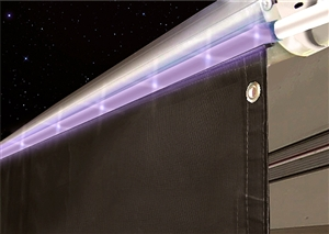 Valterra A30 0750 15 Rv Awning Drape With Solar Rope Lights