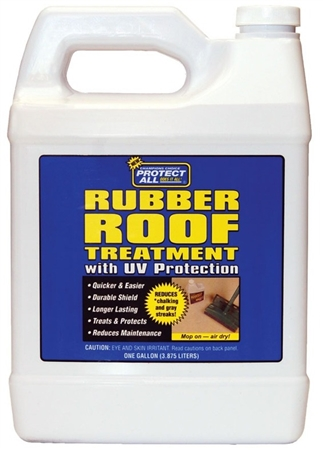 Protect All 681281 Motorhome 1 Gallon Rubber Roof Treatment