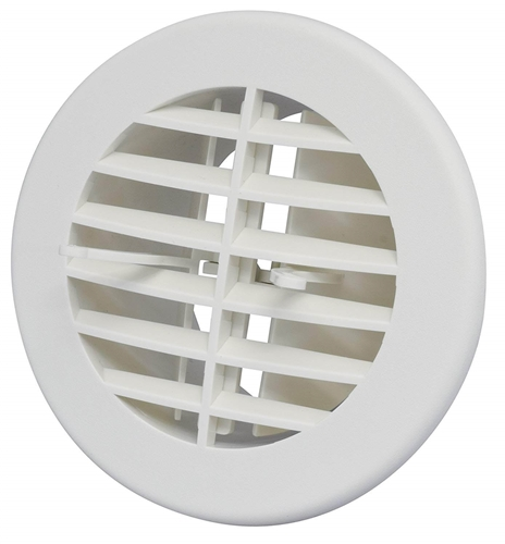 Valterra A10 3350vp Air Vent With Damper White 4 Quot
