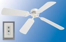 Lasalle bristol 410ndc1242wwh white 12 volt rv ceiling fan aloadofball Images