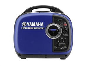 Yamaha ef2000is 2 000 watt 79cc ohv 4 stroke gas powered for Yamaha propane inverter generator