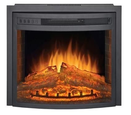 Patrick Industries Pd2616f Curved Electric Fireplace Insert 26