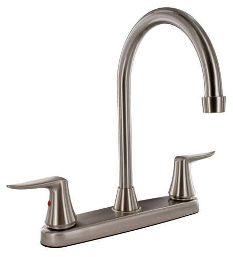 Valterra PF221403 Hi-Arc Brushed Nickel Kitchen Faucet