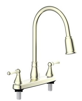 LaSalle Bristol 27830001BNAF Utopia Kitchen Faucet - Brushed Nickel