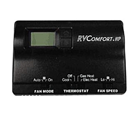 Coleman Mach 8530 3381 Digital Heat Pump Rv Thermostat Black
